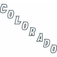 Colorado Avalanche Alternate Logo  Light Iron-on Stickers (Heat Transfers)