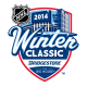 2013 14 NHL Winter Classic Primary Logo Fabric Light Iron-on Stickers (Heat Transfers)