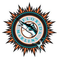 Florida Marlins Alternate Logo  Light Iron-on Stickers (Heat Transfers)