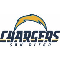 San Diego Chargers Alternate Logo  Light Iron-on Stickers (Heat Transfers) version 1