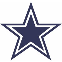 Dallas Cowboys Primary Logo  Light Iron-on Stickers (Heat Transfers)