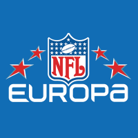 NFL Europa 2007 Alternate Logo1 Light Iron-on Stickers (Heat Transfers)