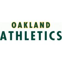 Oakland Athletics Script Logo  Light Iron-on Stickers (Heat Transfers) version 1