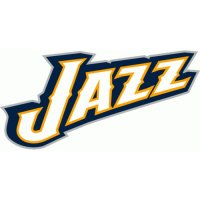 Utah Jazz Alternate Logo  Light Iron-on Stickers (Heat Transfers) version 3