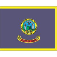 Idaho State Flag Light Iron On Stickers (Heat Transfers)