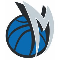 Dallas Mavericks Alternate Logo  Light Iron-on Stickers (Heat Transfers) version 2