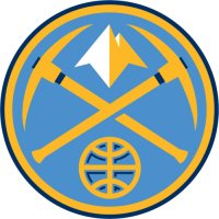 Denver Nuggets Alternate Logo  Light Iron-on Stickers (Heat Transfers)