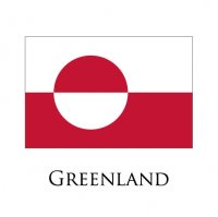 GREENLAND Flags light iron ons
