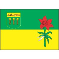 Saskatchewan Flag Light Iron On Stickers (Heat Transfers)