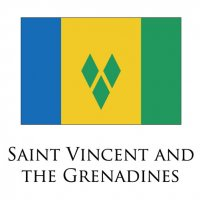 SAINT VINCENT AND THE GRENADINES Flags light iron ons