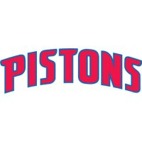 Detroit Pistons Script Logo  Light Iron-on Stickers (Heat Transfers) version 1