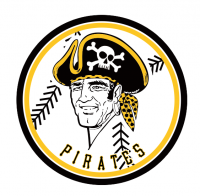 Pittsburgh Pirates T Shirt Light Iron-on Stickers (Heat Transfers)