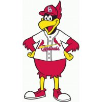 St. Louis Cardinals Alternate Logo  Light Iron-on Stickers (Heat Transfers)