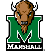 2001-Pres Marshall Thundering Herd Primary Logo Light Iron-on Stickers (Heat Transfers)