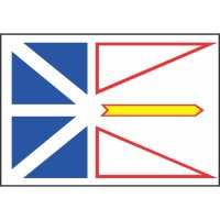 Newfoundland/Labrador Flag Light Iron On Stickers (Heat Transfers)