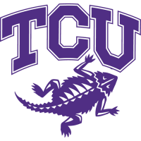 2001-Pres TCU Horned Frogs Alternate Logo Light Iron-on Stickers (Heat Transfers)