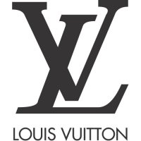 Louis Vuitton logo Light Iron On Stickers (Heat Transfers)