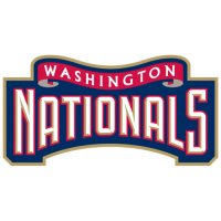 Washington Nationals Alternate Logo  Light Iron-on Stickers (Heat Transfers)