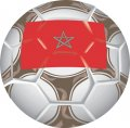 Morocco Soccer Light Iron-on Stickers (Heat Transfers)