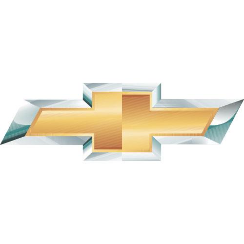 Chevrolet Logo Light Iron On Stickers Heat Transfers Version 1d