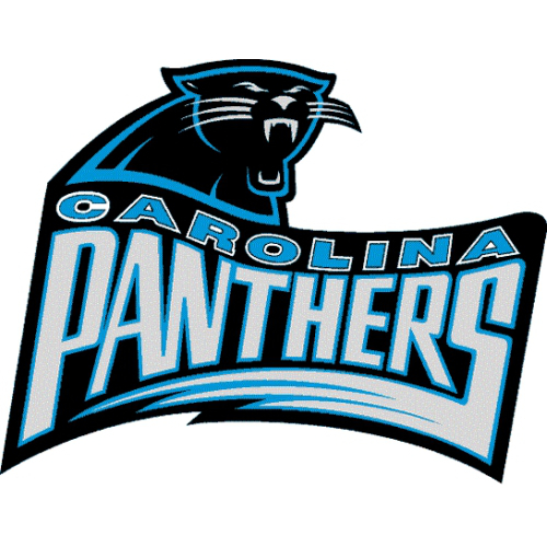 best service ff0b7 44b4d Carolina Panthers Alternate Logo Light Iron-on Stickers ...